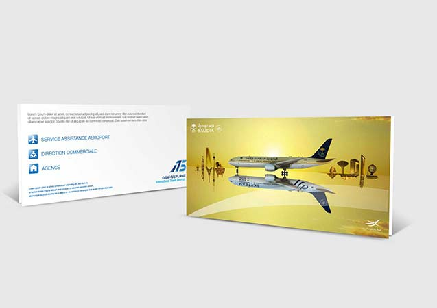 Flyers SAUDIA ARABIAN AIRLINES
