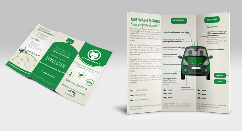 Car Wash Mobile - Brochure